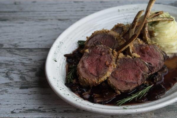 Lamb Chops at The Narrows Restaurant