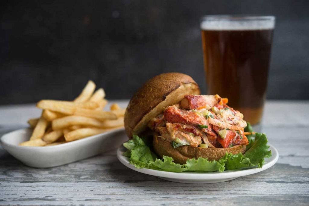 Lobster Sandwich at The Narrows Restaurant