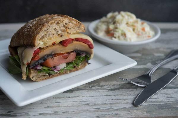Portobella Mushroom Sandwich at The Narrows Restaurant